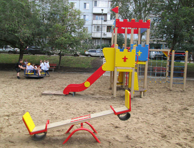 Двор на ул. Чернореченской