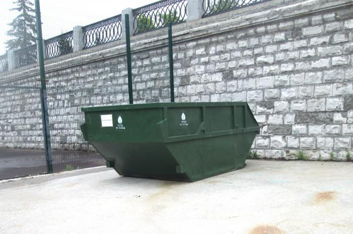 бункер накопитель для мусора
