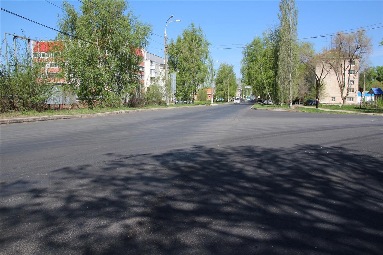 В Самаре завершился ремонт центральной улицы в поселке Береза