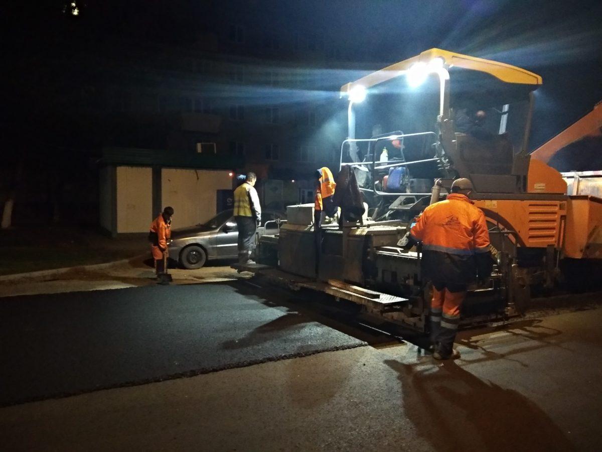 ремонт улицы Лазо